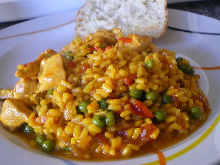 Gourmet: Receta de arroz con pollo