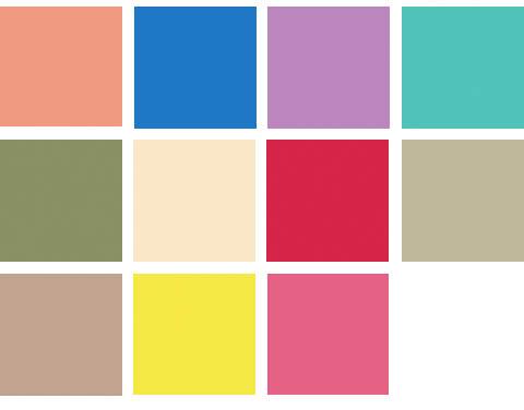 colores para p v 2011
