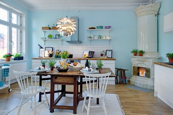 Ideas para hacer una cocina funcional y bonita handmade for Scandinavian design kitchen ideas