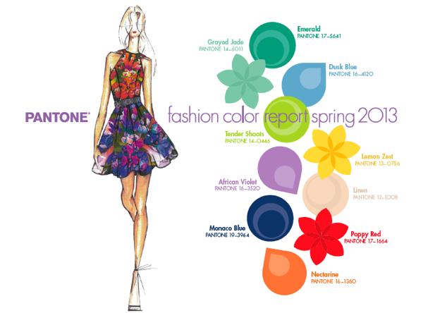 para primavera/verano, el color in de moda este año es el Esmeralda