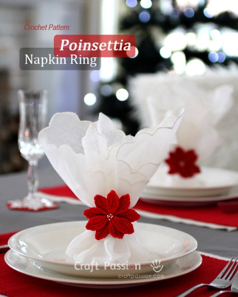 crochet-poinsettia-napkin-ring