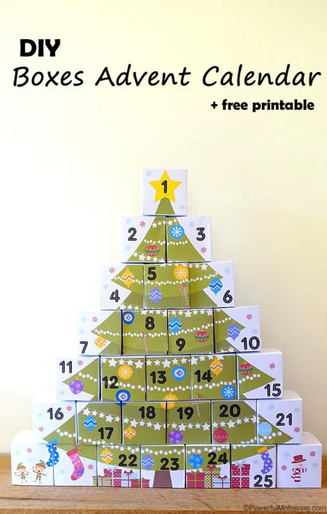 DIY-Boxes-Advent-Calendar-with-Free-Printable