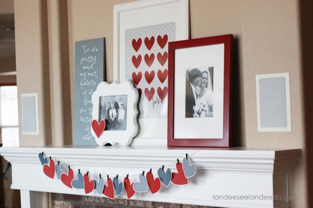 valentine+mantel+decor+1